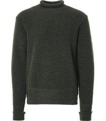 c17 cedixsept jeans old sailor nautical knit jumper   loden   c17nau-lod