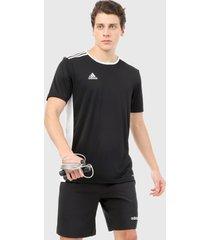 camiseta negro-blanco adidas performance entreda 18