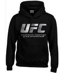 buzo estampado ufc fight sport con capota saco  hoodies