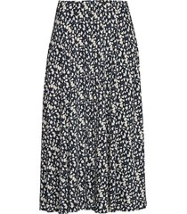 shade zero skirt knälång kjol multi/mönstrad bruuns bazaar