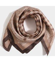 bufanda con estampado de cachemira