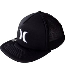 gorra hurley blocked 3.0 hats trkr in-negro