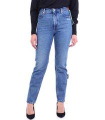 skinny jeans off-white owya019f20den002
