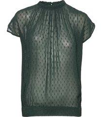 day sound blouses short-sleeved grön day birger et mikkelsen