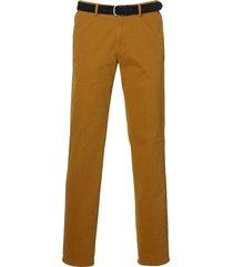 sale - jac hensen pantalon - modern fit - oker