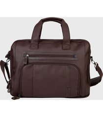 maletín   new boston 925 marrón xtrem