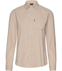 emily corduroy shirt overhemd met lange mouwen beige lexington clothing