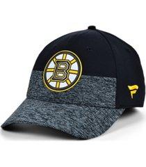 authentic nhl headwear boston bruins 2020 locker room flex cap