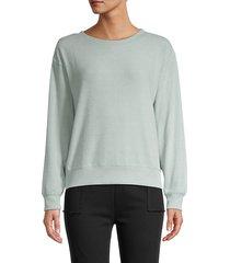 hacci side-ribbed sweatshirt