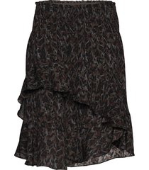 hello kort kjol brun munthe