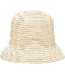 woven hemp hat