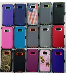 defender case and belt clip holster (fits otterbox) for galaxy s8 new