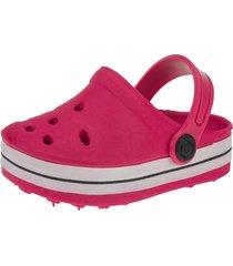 babuche infantil sandália   minipasso pink
