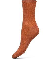 dina glitz lingerie hosiery socks orange becksöndergaard