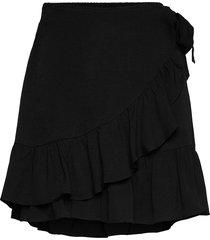 kimmy short skirt kort kjol svart second female