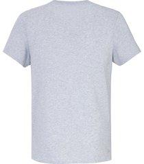 shirt korte mouwen van lacoste grijs