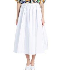 bell-shaped midi skirt