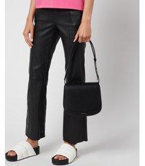 mansur gavriel women's classic shoulder bag - black