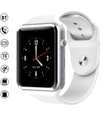smartwatch reloj inteligente a1 android blanco