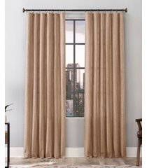 "delton 52"" x 84"" stonewashed cotton ring top curtain panel"