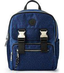mochila azul amphora college