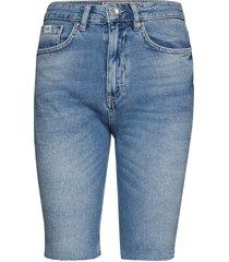 kari longline short shorts denim shorts blå superdry