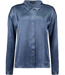blouse blauw