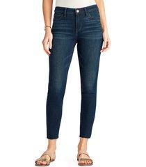 women's sam edelman the kitten high waist raw hem ankle skinny jeans