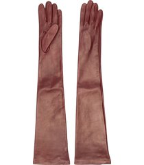 nº21 long leather gloves - 4522