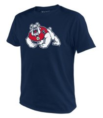 top of the world men's fresno state bulldogs big logo t-shirt
