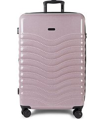 28-inch expandable spinner suitcase