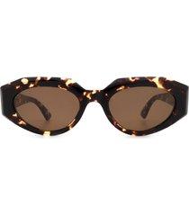 bottega veneta bottega veneta bv1031s havana sunglasses