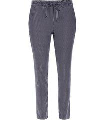 pantalón estampado a rayas color azul, talla 6