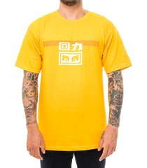 obey t-shirt uomo warrior x lines tee 163082172e.gold