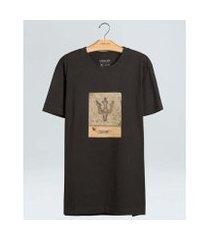 t-shirt osklen vintage trophy masculina