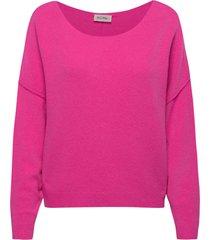 damsville stickad tröja rosa american vintage