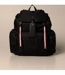 bally backpack crew bally backpack in nylon with trainspotting band