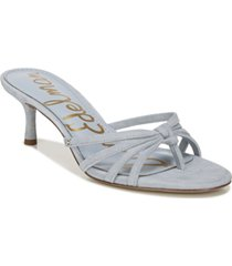 sam edelman jedda mid-heel thong sandals women's shoes