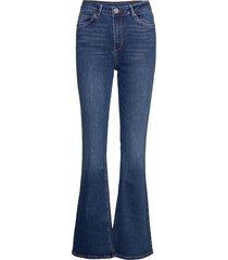 2nd fiona thinktwice jeans utsvängda blå 2ndday