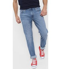 jean azul levi's  511 slim fit  - mango overt light