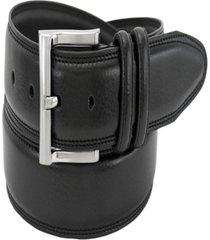 florsheim men's pebble grain leather belt