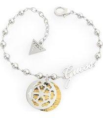 bransoletka z charmsami w kształcie monety model peony art