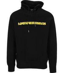 sacai love over rules hoodie