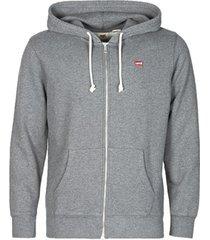 sweater levis new original zip up