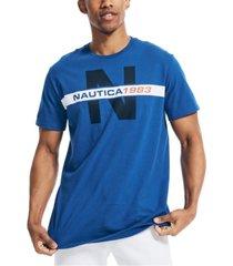 nautica men's 1983 heritage graphic t-shirt