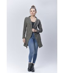 busos dama verde di bello jeans @ classic cárdigan ref s411