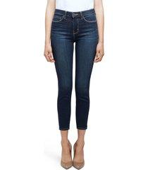 women's l'agence margot high waist crop skinny jeans