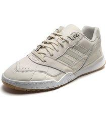 tenis lifestyle blanco hueso  adidas originals a.r trainer