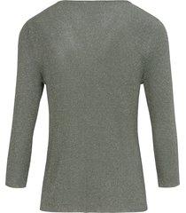 trui met ronde hals van mayfair by peter hahn groen