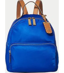 tommy hilfiger women's solid dome backpack rain cloud -